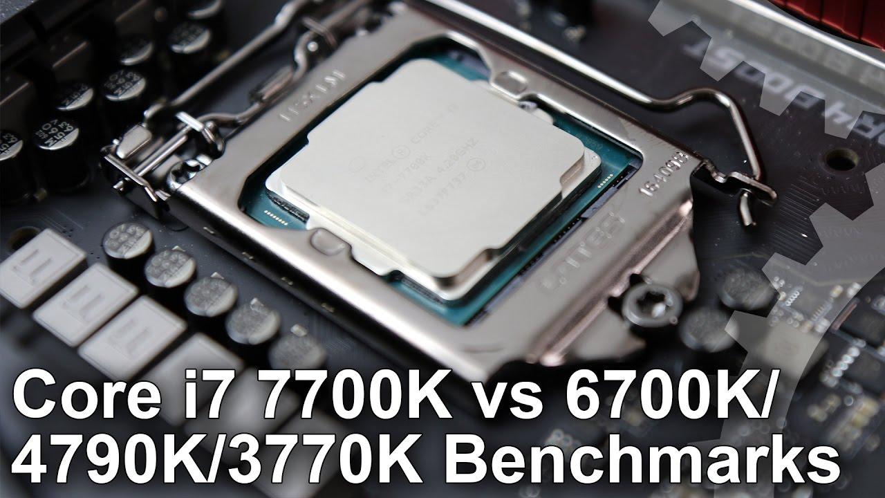 Intel Kaby Lake: Core i7 7700K review • Eurogamer net