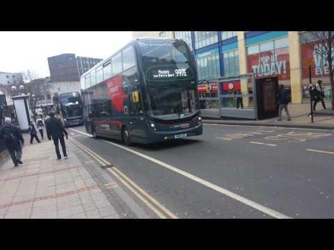 Birmingham platinum buses