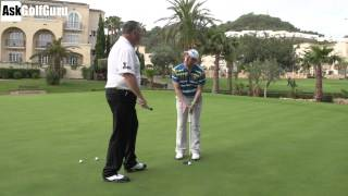 Putting Ball Position