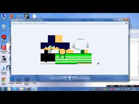 Как установить скин на Minecraft без папки bin и скина по нику. А также где его сделать.