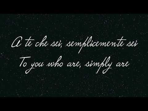 A te - Jovanotti (Ita / Eng lyrics)