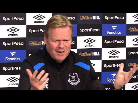 Ronald Koeman Full Pre-Match Press Conference - Everton v Tottenham - 'Very Disappointed' In Rooney