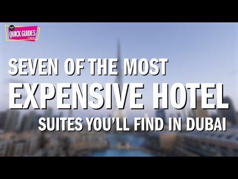 Dubai's most expensive hotel suites (2018)
