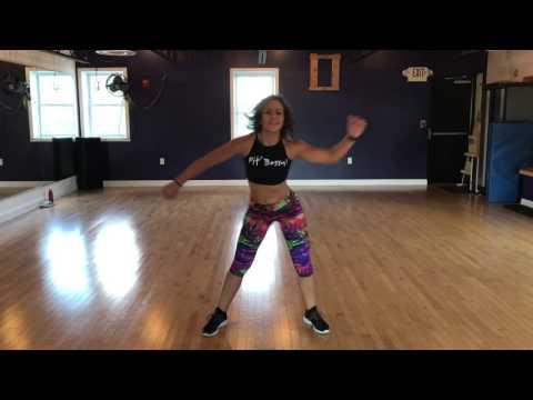 "BIM dance choreography workout to ""waist time"""