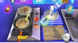 TV Superstars (PS3) Big Beat Kitchen Gameplay + Platinum Trophy