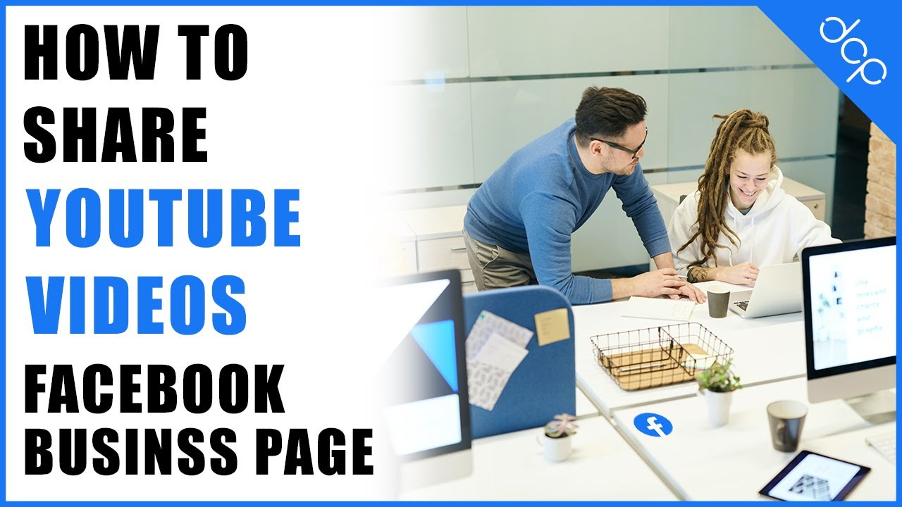 How to share a youtube video on Facebook business page tutorial ...
