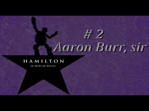 TMNT/Hamilton~ Aaron Burr, Sir?