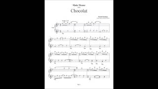Chocolat - Main Theme - Piano Cover