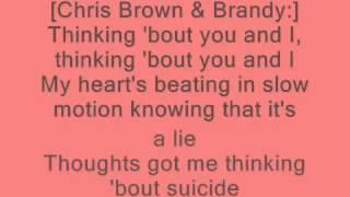 Chris Brown Ft Brandy  Do Better LYCRIS
