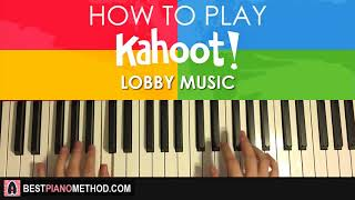 Baixar Kahoot Lobby Music (Piano Tutorial Lesson)