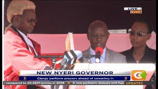 Nyeri's fourth governor sworn into office