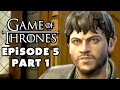 Game of Thrones - Telltale Games - Episode 5: A Nest of Vipers - Gameplay Walkthrough Part 1