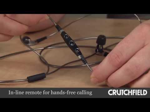 Denon Music Maniac AH-C400 In-Ear Headphones | Crutchfield Video
