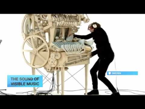 Visible Music: Swedish musician creates a new instrument