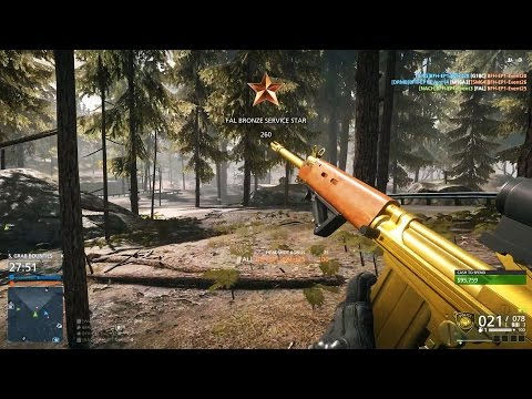 FAL BATTLE RIFLE + NEW MAP 'BACKWOODS' (Battlefield Hardline: Criminal Activity Gameplay)