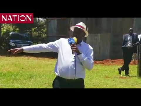 Soy MP Caleb Kositany asks Uhuru to break silence in ongoing woes facing Ruto