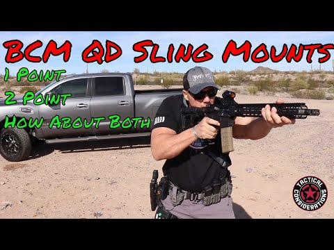 Bravo Company BCM QD Sling Adapters Be Convertible