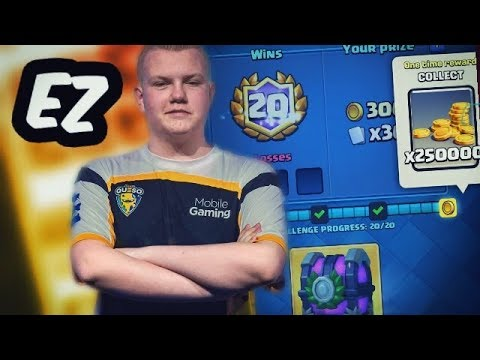 20 WINS IN CROWN CHAMPION CHALLENGE! Best NEW Deck - Clash Royale