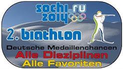 Sotschi 2014 Olympia Special #2 Biathlon - Alle Disziplinen - Alle Favoriten [Sochi 2014 biathlon]
