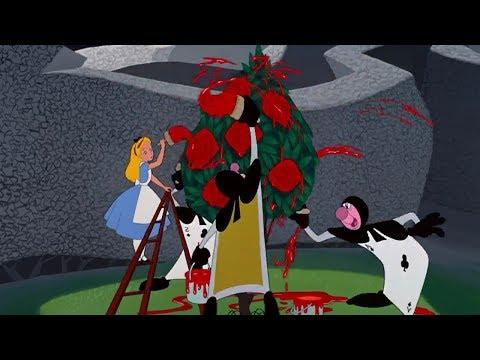 Alice In Wonderland Painting The Roses Red Eu Portuguese