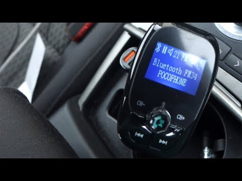 Quick Charge 3.0 Bluetooth FM Transmitter - A Great Car Audio Solution