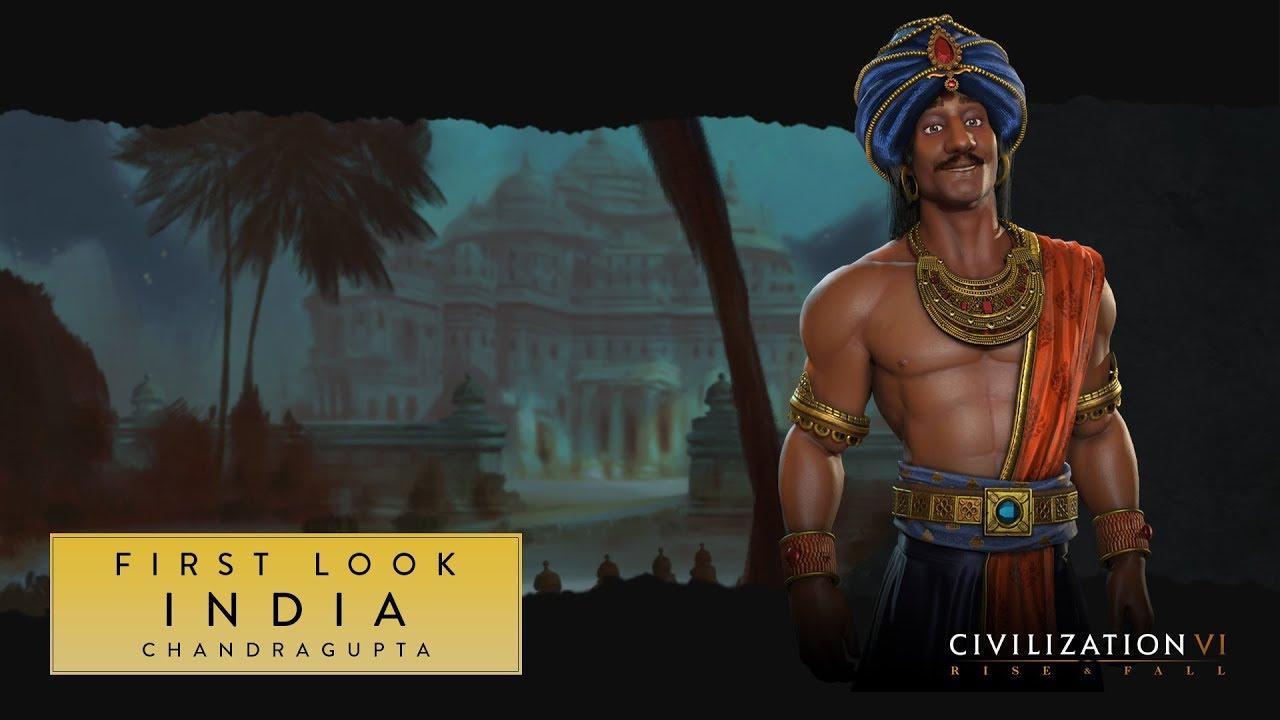 Civilization VI: Rise and Fall - Chandragupta Maurya