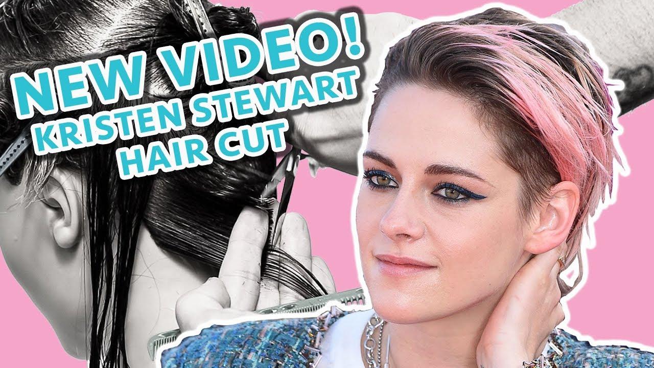 How To: Kristen Stewart Haircut Tutorial | 90's Grunge Haircut