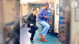 OHSU doctor dancing in hospital corridors offers reprieve during coronavirus pandemic