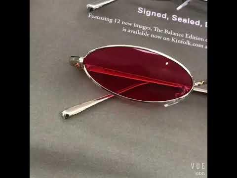 9560de5f65 Vintage candy tinted flat lens mini cute sunglasses - YouTube