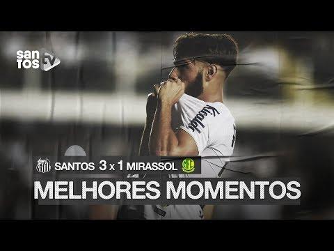 SANTOS 3 X 1 MIRASSOL | MELHORES MOMENTOS | PAULISTÃO (07/03/2020)