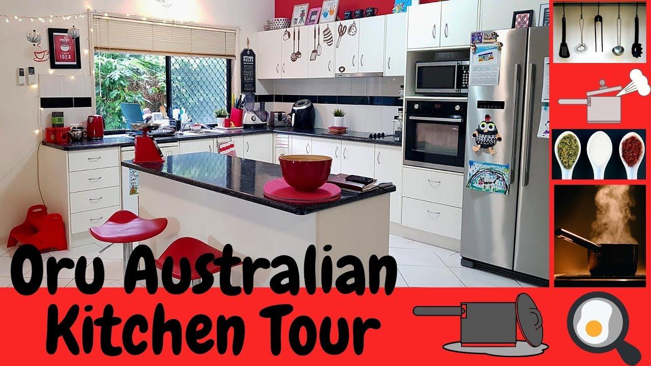 Kitchen Tour   Our Kitchen in Australia   Malayalam   Practical Kitchen  Organisation   Ep20