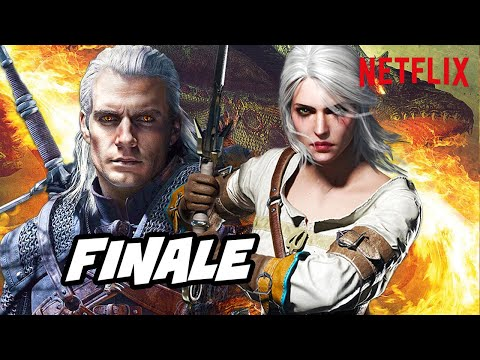 The Witcher Netflix Ending Scene - TOP 10 WTF And Easter Eggs