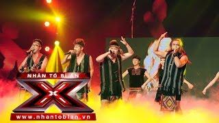 mash up lk ve tay nguyen - f band  nhan to bi an 2014  season 1 - liveshow 8 ban ket