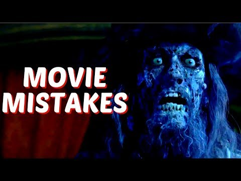 10 Biggest Mistakes In Pirates Of The Caribbean You Missed | The Curse Of The Black Pearl Movie