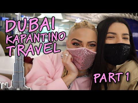 DUBAI ΚΑΡΑΝΤΙΝΟ TRAVEL με την κολλητή ||  PART1  || Stela Passari