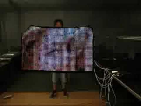 flexible LED screen / soft LED display ( mail/MSN: yuchao622@hotmail com