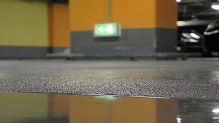 Устройства пола в гаражах, технических и подсобных помещениях