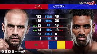 #GLORY76 - Badr Hari vs Benjamin Adegbuyi - Tale Of Tape 2.0 (Combat reporté au 19 décembre)