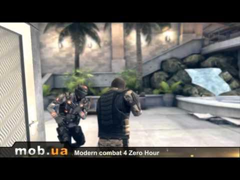 Modern Combat 4 Zero Hour  для Android - Mob.ua