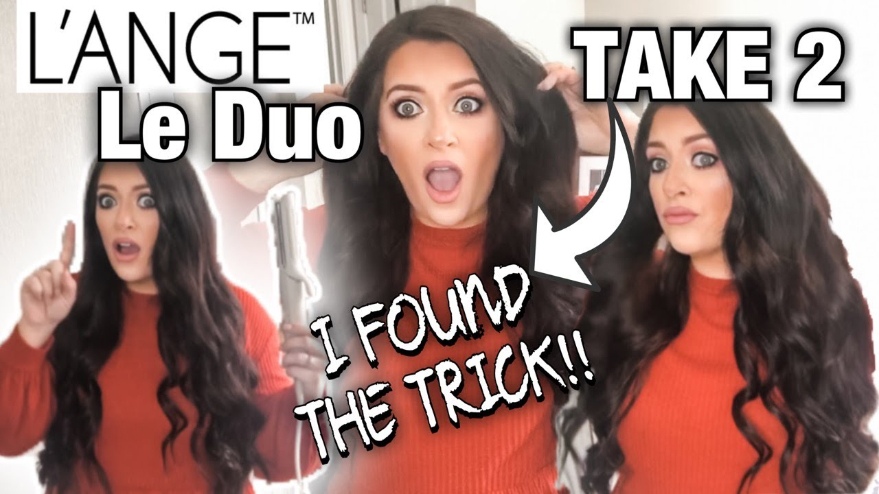 Download L'ANGE LE DUO TAKE 2 - I FOUND THE TRICK- HOW TO USE ON LONG HAIR