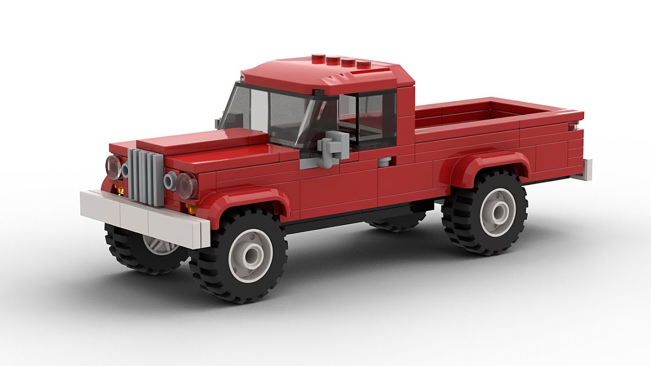 LEGO Jeep Gladiator J Tutorial - YouTube