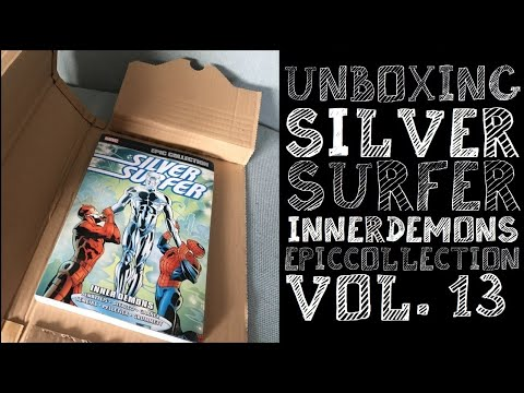 unboxing-silver-surfer-epic-collection