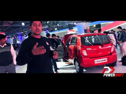 New Maruti Suzuki Celerio: First Look: PowerDrift