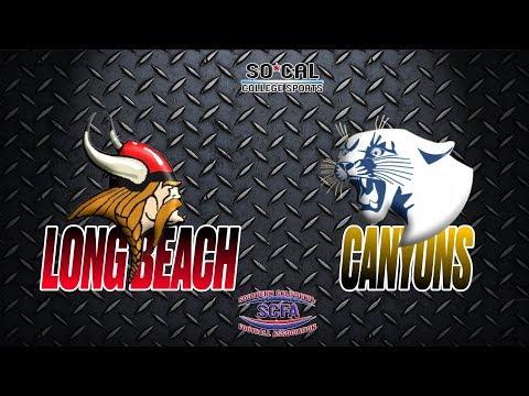 SCFA Football Week 4: Long Beach at Canyons - 9/23 - 6pm