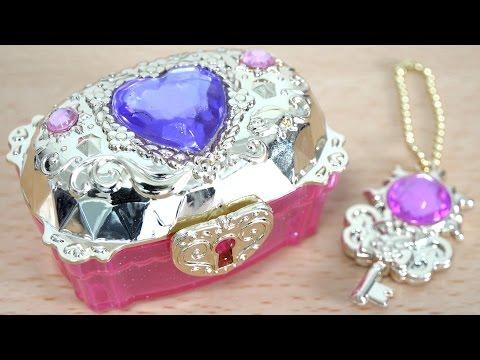 Disney Princess Royal Collection Ariel's Secret Toilette And Rapunzel's Jewelry Box