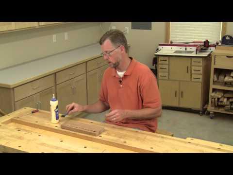 Perfect Wood Plug Gluing