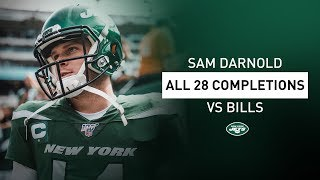 All 28 Sam Darnold Completions In Week 1 Vs. BIlls | New York Jets | NFL