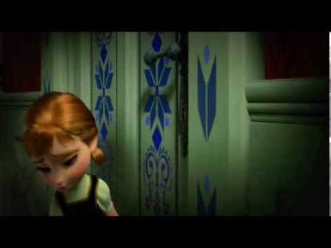 Frozen // Do You Wanna Build a Snowman? (Video Scene From Movie) ( Lyrics)