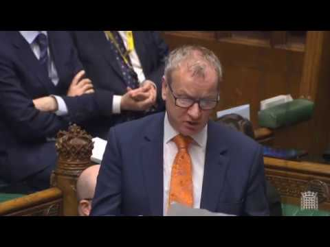 Pete Wishart MP - Point of Order - Contempt of the House over EU impact assessments