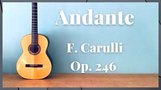 Andante - F. Carulli Op. 246